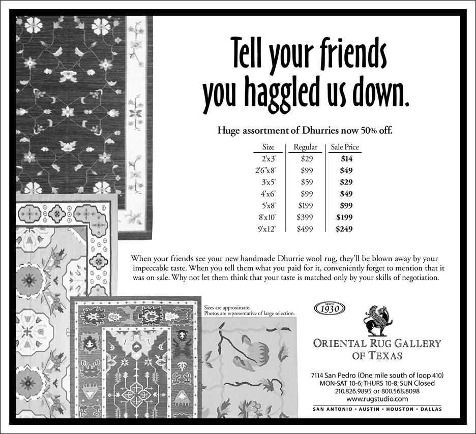 BW Newspaper Ad.